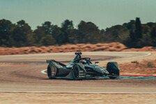 Formel E: Porsche testet Gen2-Rennauto in Calafat