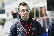 Formel 1, Kvyat nimmt Baku-Crash locker: Brauche kein Training