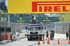 Formel 1 Baku 2019: 1. Training nach Gully-Drama abgebrochen