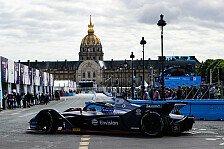 Formel E: Frijns gewinnt erstes Regen-Rennen der Geschichte