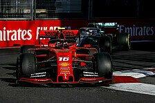 Formel 1, Leclerc: Kein Ferrari-Einbruch, Mercedes nie weit weg