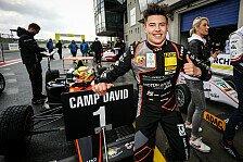 Niklas Krütten feiert beim ADAC Formel 4-Auftakt 1. Saisonsieg