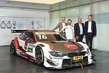 DTM: Bunt statt gelb! So sieht Timo Glocks BMW M4 für 2019 aus