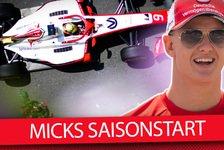 Formel 2 - Video: Wie schlägt sich Mick Schumacher in der Formel 2 2019?