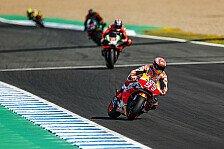 MotoGP Jerez 2019: Marc Marquez im Warm Up trotz Defekt vorn