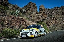 ADAC Opel Rallye Junior Team sammelt Ashpalt-Erfahrungen