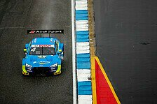 DTM-Training in Brands Hatch: Audi vorne, Aston Martin im Kies