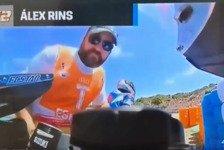 MotoGP Jerez: Dreister Streckenposten mopst Rins-Souvenir