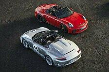 Porsche lässt den 911 Speedster wieder aufleben