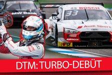 DTM - Video: Renndebüt der neuen DTM-Turboautos 2019