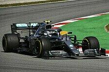 Formel 1, Spanien - 2. Training: Mercedes distanziert Ferrari