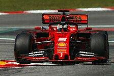 Formel 1 quetscht Pirelli-Test mit Vettel vor Japan GP