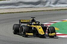 Formel 2 Silverstone-Qualifying: Guanyu Zhou holt erste Pole