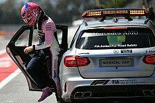 Formel 1, Stroll schüttelt Spanien-Crash ab: Kein Rückschlag