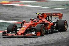 Formel 1, Leclerc zerlegt Ferrari: Balance schon davor schlecht