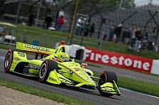 IndyCar Indianapolis - Krimi-Finale: Pagenaud-Sieg im Regen