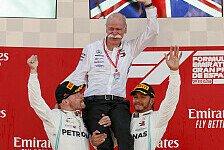 Formel 1: Wolff huldigt Daimler-Chef Zetsche: Sein Verdienst