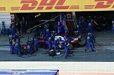 Formel 1, Kvyat: Barcelona-Boxendrama kostet Top-Ergebnis