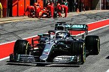 Formel 1 Barcelona: Mercedes deklassiert Ferrari auch beim Test