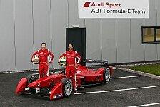 Formel E: Heute vor 5 Jahren begann das Abt-Audi Abenteuer
