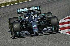 Formel 1 Test Barcelona: Selbst Mazepin im Mercedes Schnellster
