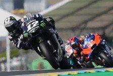 MotoGP Le Mans 2019: Vinales im nassen 3. Training voran