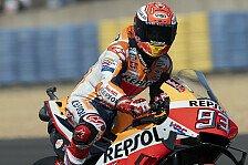 MotoGP Le Mans: Marc Marquez siegte bei verhassten Bedingungen