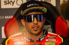MotoGP: Andrea Iannones Aragon-Start in Gefahr
