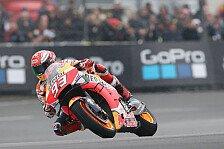 MotoGP Brünn 2019: Marc Marquez dominiert in nassem FP4