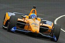 IndyCar - Video: Fernando Alonsos letzter Qualifying-Run beim Indy 500 2019