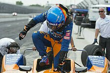 Fernando Alonso zu langsam: Nicht für Indy 500 qualifiziert