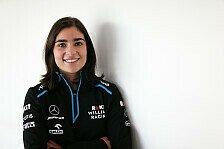 Formel 1: Williams holt W-Series-Spitzenfrau Jamie Chadwick