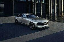 Peugeot präsentiert e-Legend Concept bei in Cernobbio