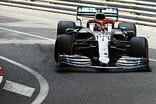 Formel 1, Monaco-Qualifying: Hamilton entreißt Bottas die Pole