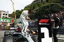 Formel 1 Monaco, Hamilton feiert nach Lauda-Tod spezielle Pole