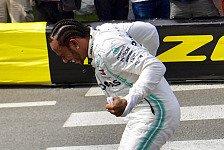 Formel 1 Monaco - Ticker-Nachlese vom Samstag mit Hamilton-Pole