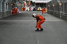 Formel 1: Beinahe-Unfall von Perez & Monaco-Marshals hat Folgen