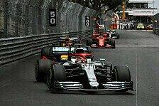 Formel 1 Monaco, Hamiltons Reifendrama: Mercedes gibt Fehler zu