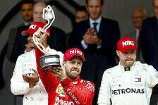 Formel 1 Monaco, Sebastian Vettel als Abstauber: P2 unerwartet