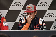 MotoGP - Marc Marquez krank: Auf 80 Prozent zurückgeschraubt