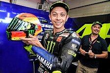 MotoGP: Valentino Rossi präsentiert neues Mugello-Helmdesign