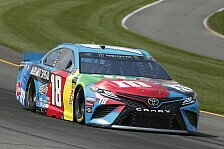 NASCAR Pocono: Kyle Busch dominiert beim Tricky-Triangle-Sieg