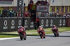 Dovizioso und Marquez: MotoGP-WM-Titel in letzter Runde im Kopf