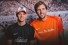 Champions for Charity: Mick Schumacher fordert Dirk Nowitzki