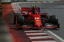 Formel 1, Kanada - 2. Training: Ferrari vorne, Hamilton crasht