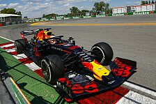 Formel 1 Kanada: Gasly treibt Verstappen in Wall of Champions