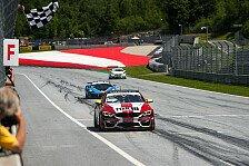 ADAC GT4 Germany - Schrey/Jäger gewinnen Lauf eins am Red Bull