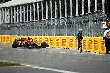 Formel 1, Norris mit Glück im Unglück: Auto fing einfach Feuer