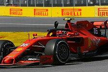 Ferrari lässt Leclerc im Dunkeln: Vettel-Strafe vergessen