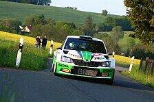 Duell in der Deutschen Rallye-Meisterschaft